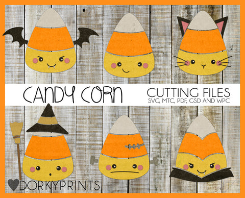 Candy Corn Cuttable Files
