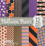 Halloween Digital Paper Pack