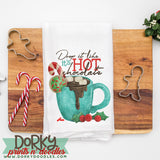 Holiday Hot Chocolate Watercolor PNG