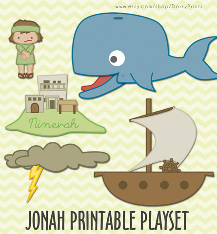 Jonah and the Whale Bible Printables