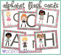 Kids Alphabet Cards Learning Printables