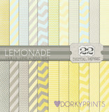 Lemonade Digital Paper Pack