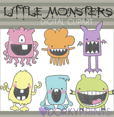 Monsters Sci-fi Clipart