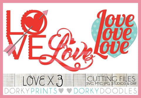 Love Valentine SVG Cuttable Files