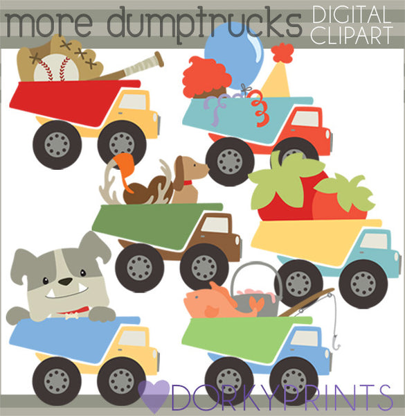 Dumptrucks Fun Clipart