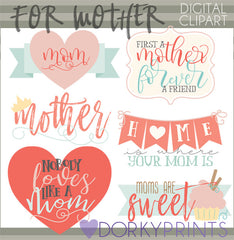 Mothers Holiday Clipart