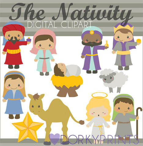 Nativity Christmas Clipart