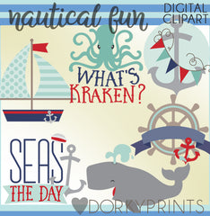 Nautical Fun Summer Clipart