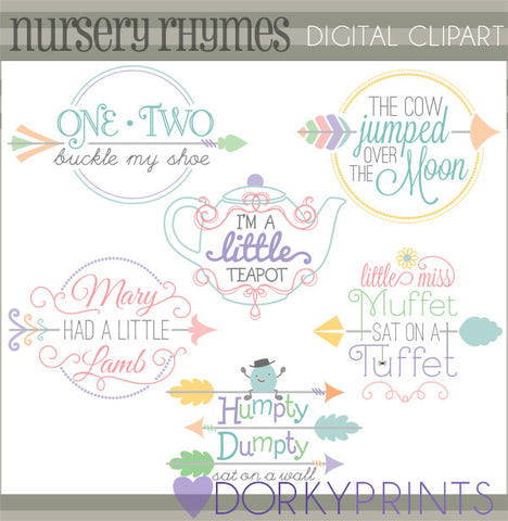 Nursery Rhymes Fun Clipart