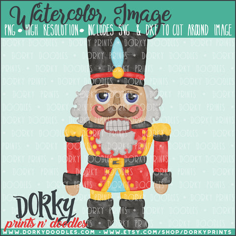Nutcracker Watercolor PNG