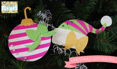 Christmas Ornament and Hat Cuttable Files