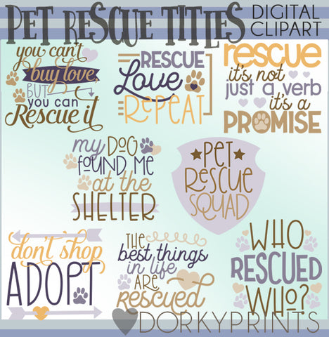 Pet Rescue Clipart