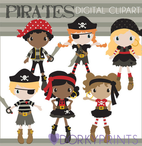 Pirates Kid Clipart
