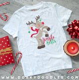 Silly Reindeer Christmas Clipart