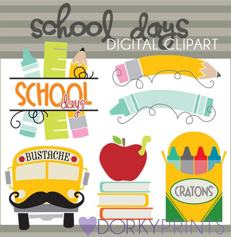 Days of School Clipart