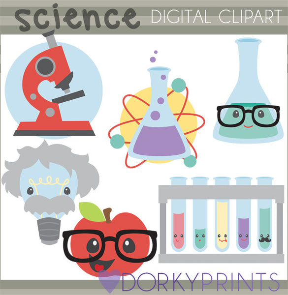 Science School Clipart