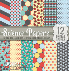 Science Digital Paper Pack