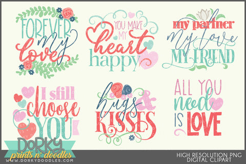 Serious Love Valentine Clipart