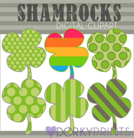 Shamrock Holiday Clipart