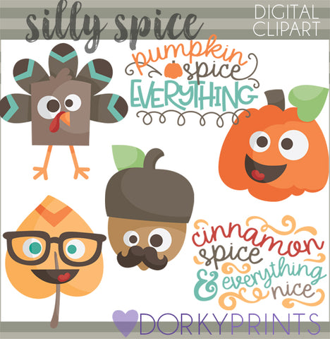 Silly Thanksgiving Clipart
