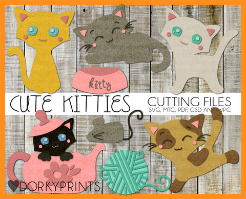 Kitties Cuttable Files