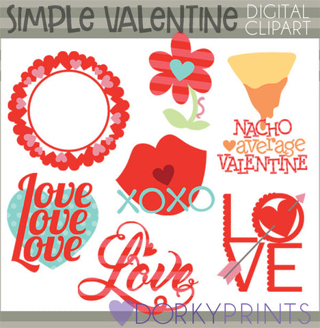 Simple Valentine Clipart