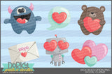 Simply Cute Valentine Clipart