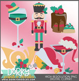 Simply Christmas Clipart