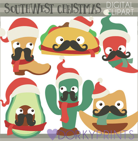 Southwest Christmas Clipart