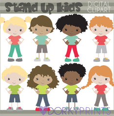 Respectful Kids School Clipart