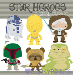 Star Heroes 2 Character Clipart