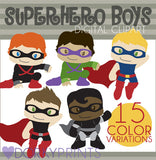 Boy Super Hero Clipart