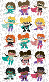 Girl Super Hero Clipart