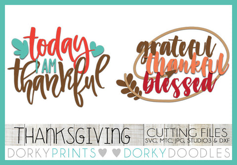 Thanksgiving Cuttable Files