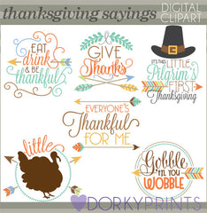Arrow Quotes Thanksgiving Clipart