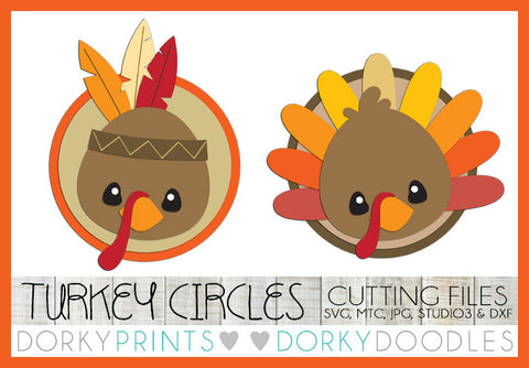 Thanksgiving Turkey Cuttable Files