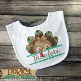 Turkey Name Holder Watercolor PNG