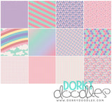 Unicorn Digital Paper Pack