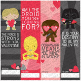 Star Heroes Valentine Bookmarks Holiday Printables