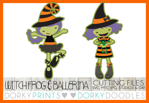Witch Halloween SVG Cuttable Files