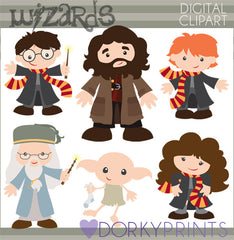 Wizards Character Clipart