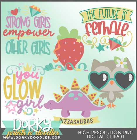 Girl Power Clipart