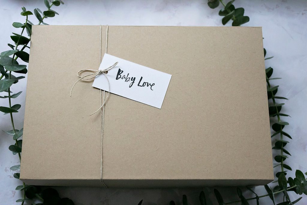 luxe baby girl gift box set