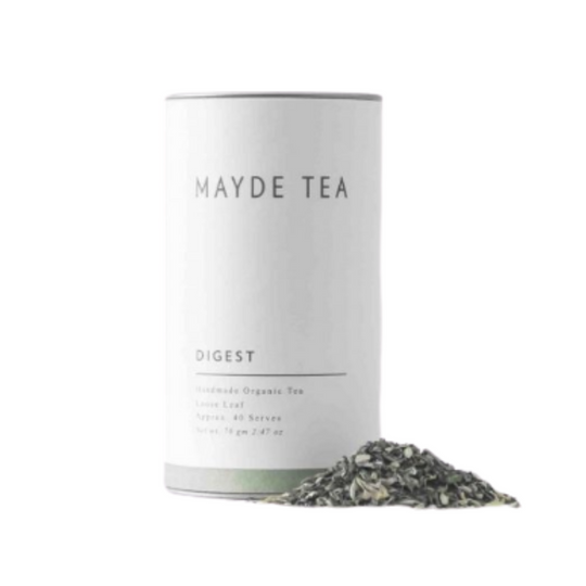handmade organic digestive loose leaf tea from Australian tea producer Mayde Tea