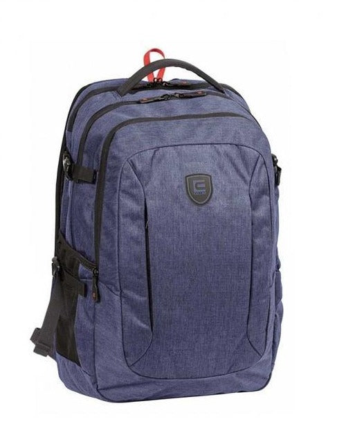 "Cellini 17"" Multipocket Laptop Bag - Navy"