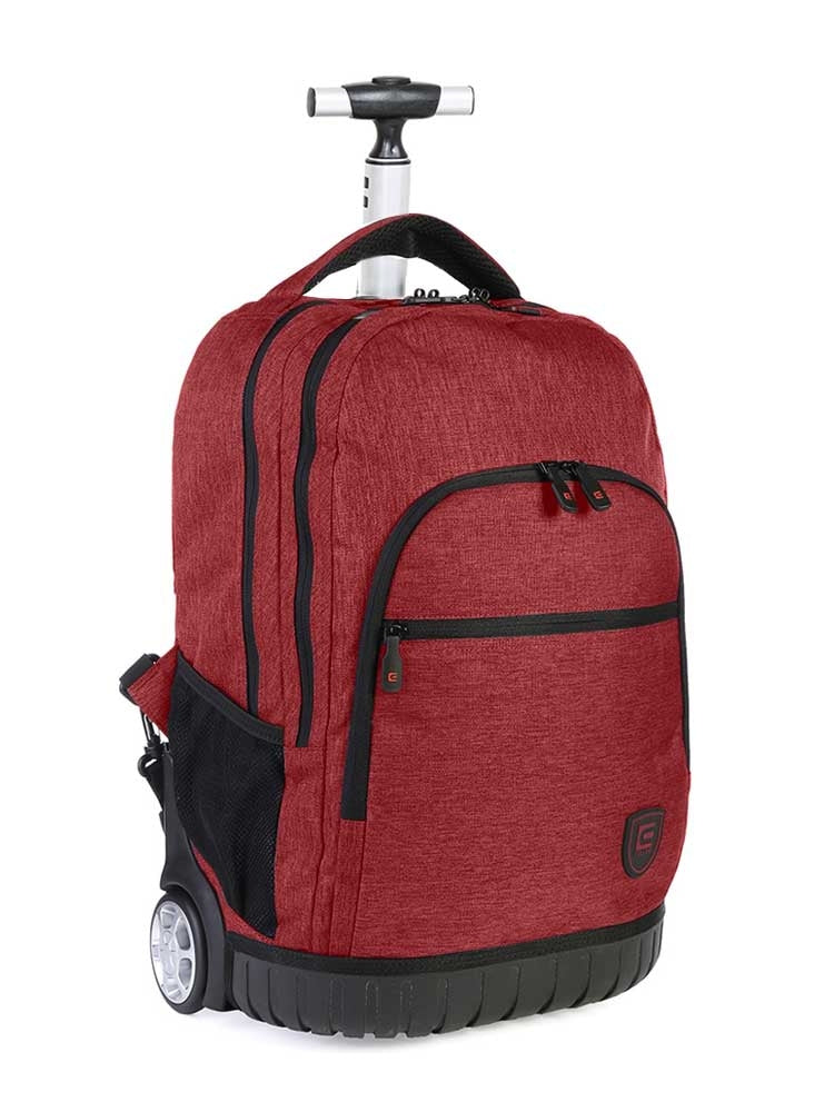 Cellini Trolley Backpack - Cardinal Red