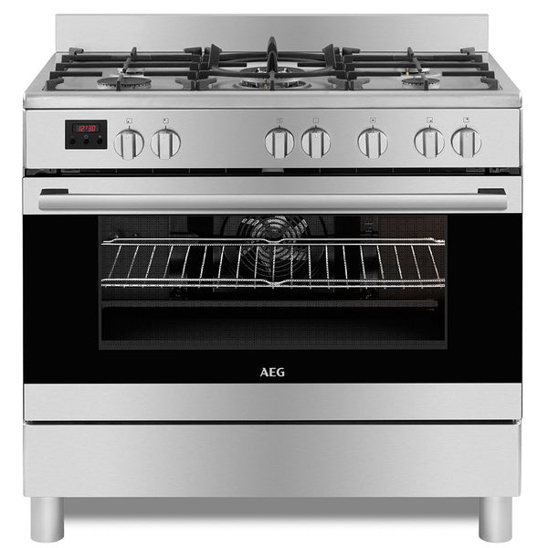 AEG 90cm Gas / Electric Free Standing Cooker