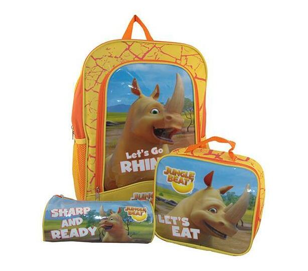 Jungle Beat Rhino On The Move 3-In-1 Set