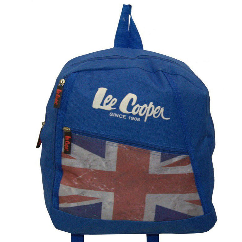 Lee Cooper Flag Backpack-Blue