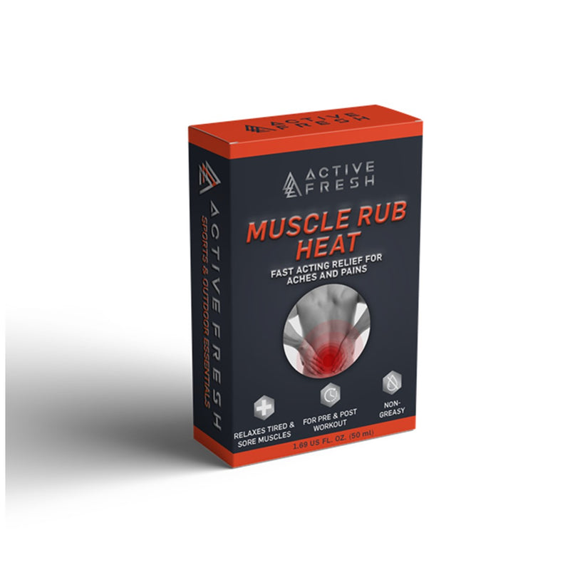 Lifestyle Essentials Fresh Active Muscle rub heating effect - 45ml